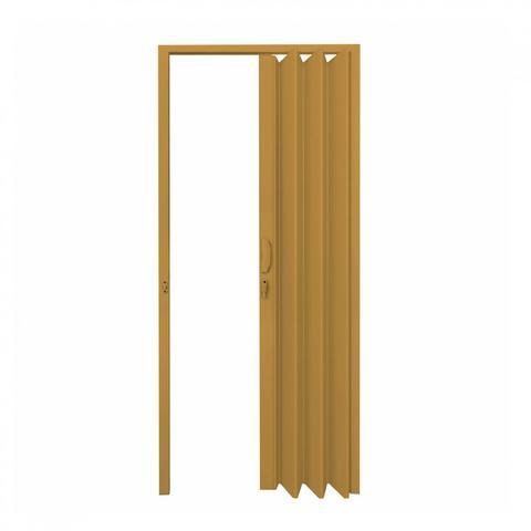 Imagem de Porta Sanfonada PVC Polifort 210cmx80cm Cerejeira