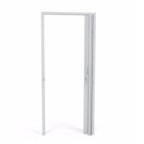 Imagem de Porta Sanfonada PVC Polifort 210cmx80cm Cinza
