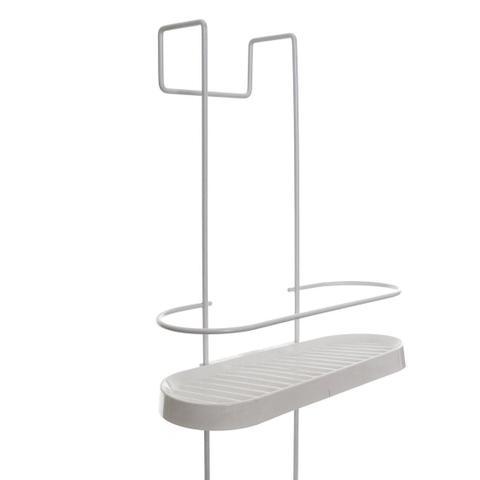Imagem de Porta Shampoo para Box de Banheiro Triplo - Branco