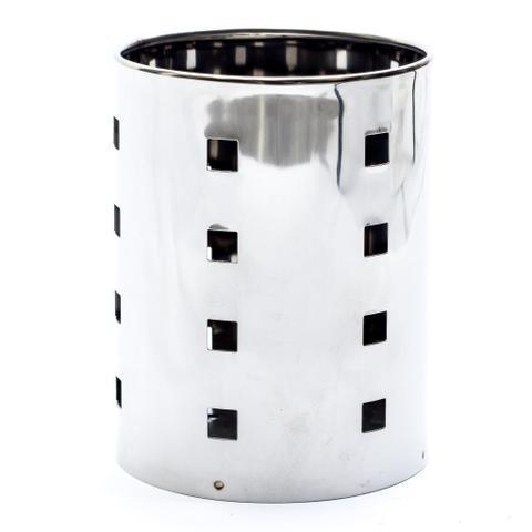 Imagem de Porta Talheres Escorredor Inox Vazado Cozinha dasshaus