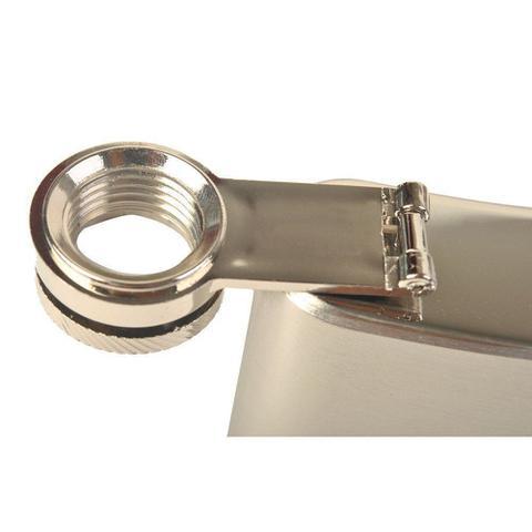 Imagem de Porta whisky de aço cantil 8 oz 236ml CBRN01446