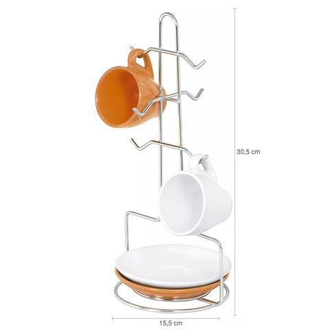 Imagem de Porta Xícaras E Pires Suporte para Cápsulas de café Bancada Dolce Gusto