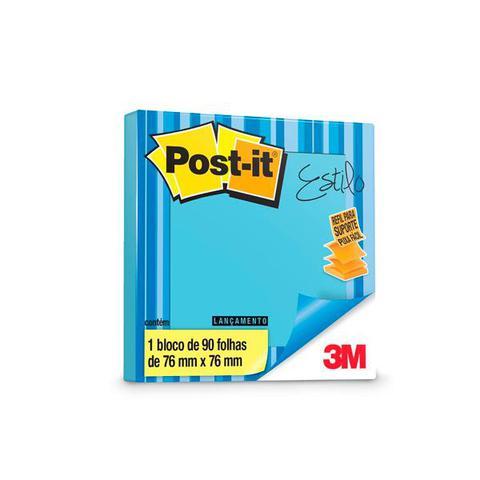 Imagem de Post-It Azul Ceu com 90 Folhas 76X76 CM 3M