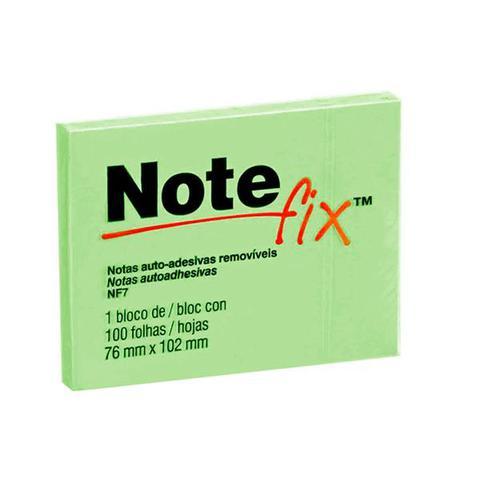 Imagem de Post-it - verde - com 100 folhas - 76x102 mm - note fix - 3m hb004116099