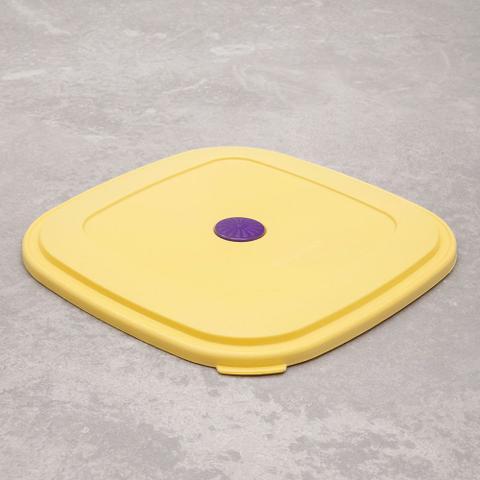 Imagem de Pote de Plástico Quadrado Vac Freezer 2,9l Verde - Sanremo