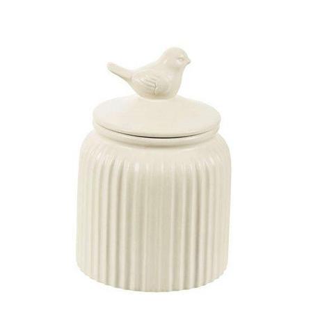 Imagem de Pote Decorativo em Ceramica Passaro Nude MART 7953