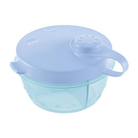 Imagem de Pote para leite em pó sanremo azul 280ml