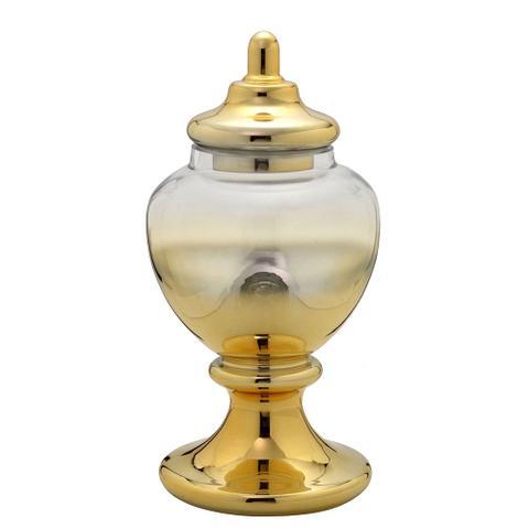 Imagem de Potiche de Vidro Dourado Divine 47cm Espressione
