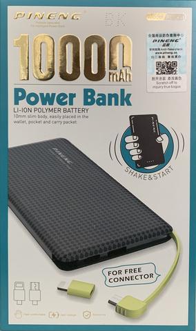 Imagem de Power Bank Original Slim Pineng Pn 951 10000 Mah