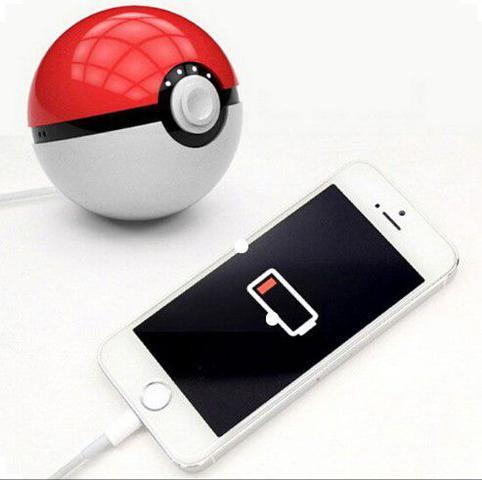 Imagem de Power bank Pokébola Pokémon Item de Coleção + Cabo