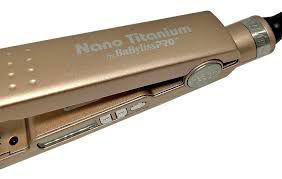Imagem de Prancha/ Chapinha Babyliss Pro Nano Titanium Rose Gold 1 ¹/4 450º F (230 ºC) By Roger