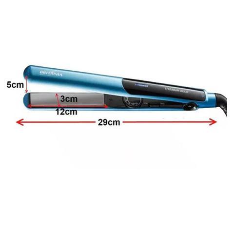 Imagem de Prancha de Cabelo Britânia Titanium Blue 220ºC
