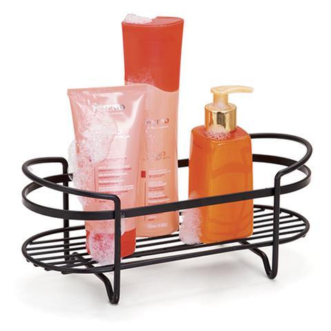 Imagem de Prateleira de Bancada para Shampoo Linha Black Preto - Arthi