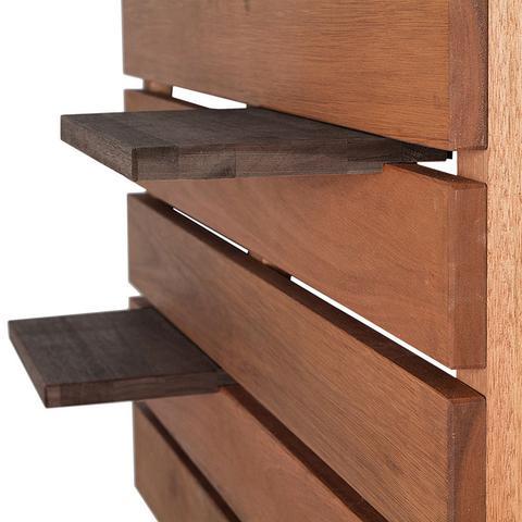 Imagem de Prateleira Vertical para Varanda   Mão e Formão