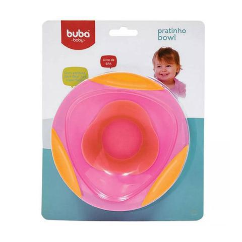 Imagem de Pratinho Bowl com Ventosa Rosa - Buba