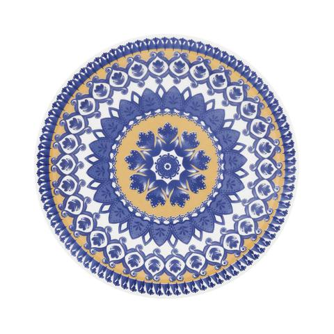 Imagem de Prato de Cerâmica Fundo 23cm Floreal Oxford La Carreta