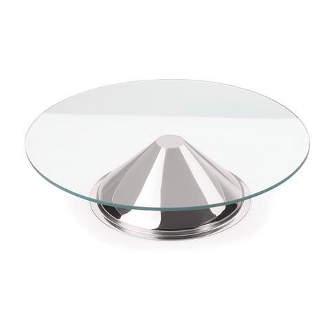 Imagem de Prato para Bolo de Vidro Andrea 30 cm Forma