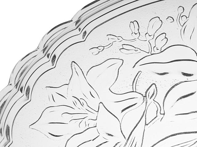 Imagem de Prato para Bolo de Vidro Redondo KIG