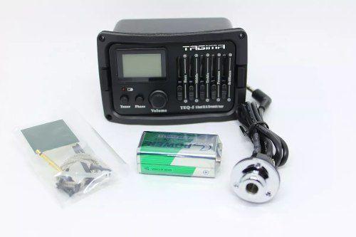 Imagem de Pré-Equalizador Para Violão Tagima, Modelo TEQ-5