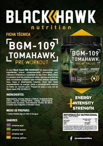Imagem de Pré treino Tomahawk 300gr BGM-09