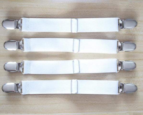 Imagem de Prendedor elástico para lençol presilha de metal