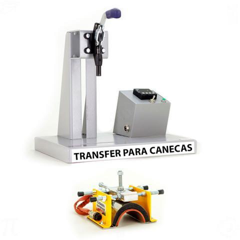 Imagem de Prensa Digital Térmica Canecas  Transfer em Acrílico 110v