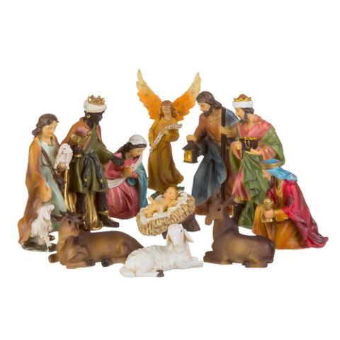 Imagem de Presépio resina com 11 peças - Santini