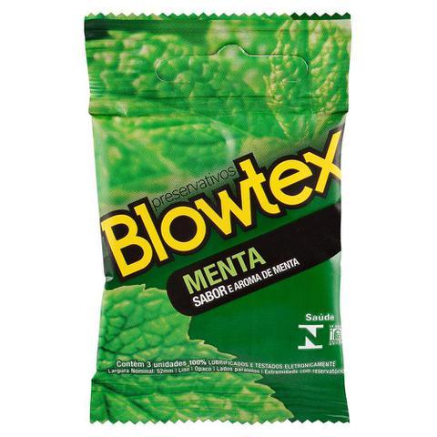 Imagem de Preservativo Blowtex Menta c/ 3 Unidades