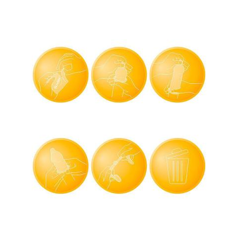 Imagem de Preservativo Blowtex Morango e Chocolate c/ 3 Unidades