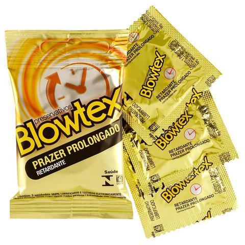 Imagem de Preservativo Blowtex Retardante c/ 3 Unidades