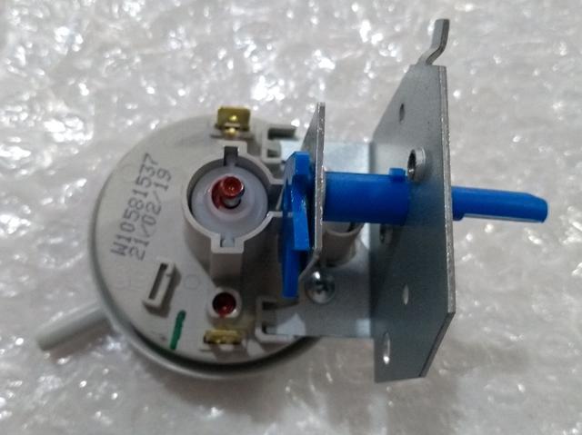 Imagem de pressostato consul lavadora modelo cwk11 cwk12 4 niveis 2 fios original + botão