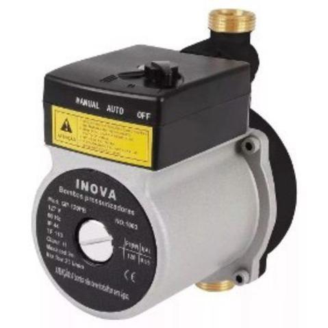 Imagem de Pressurizador Inova C/ Fluxostato GP-120 PPA (ABS)  1/6 CV 110V Mono.