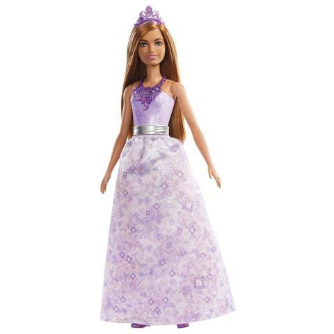 Imagem de Princesa Dreamtopia Barbie vestido Roxo FXT13/FXT15 - Mattel