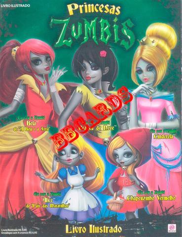 Imagem de Princesas Zumbis Álbum De Figurinhas Completo Para Colar