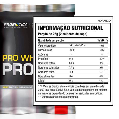 Imagem de Pro Whey Protein Concentrado 500g refil - Probiótica