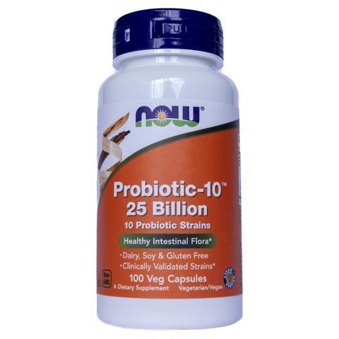 Imagem de Probiótico 10  25 Billion 100 Capsulas - Now