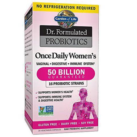 Imagem de Probiótico 50 bilhões para Mulheres Garden of Life - 30 Capsulas Veganas