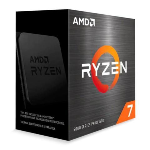 Imagem de Processador AMD Ryzen 7 5800X Octa-Core 3.8GHz (4.7GHz Turbo) 36MB Cache AM4, 100-100000063WOF