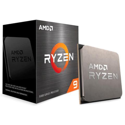 Imagem de Processador AMD Ryzen 9 5900x 3.7GHz 70Mb 105W AM4