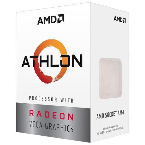 Imagem de Processador Athlon 3000G, AMD 2 Core, 3500MHz, AM4, AMD, C/Cooler