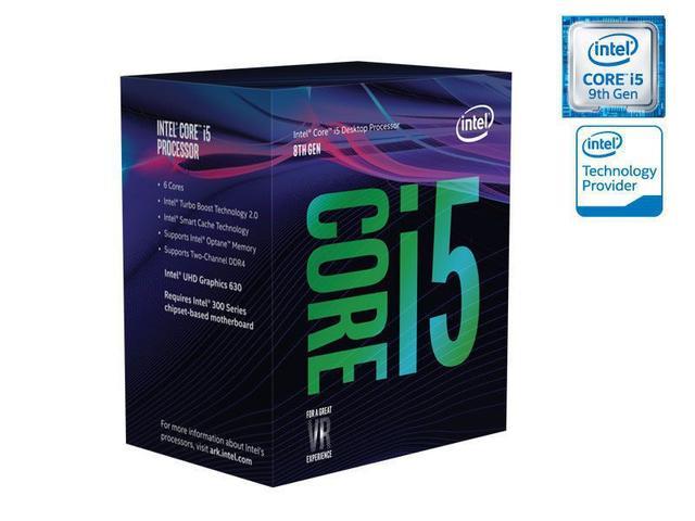 Imagem de Processador Core I5 LGA 1151 INTEL BX80684I59400F Hexa Core I5-9400F 2.90GHZ 9MB Cache S/ Grafico 9GER