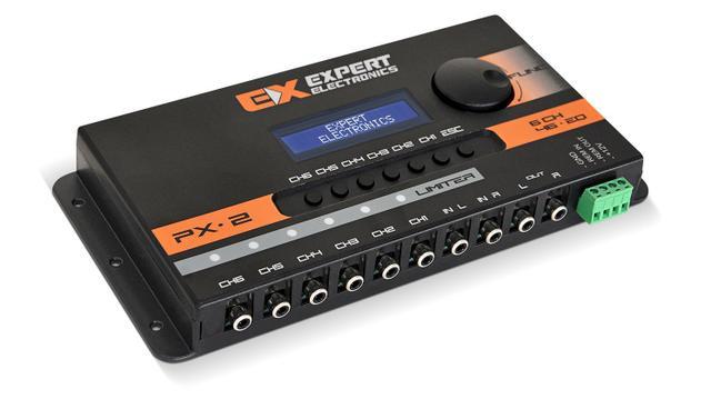Imagem de Processador De Áudio Banda Expert Electronics Px2 Limiter 6 Vias Equalizador