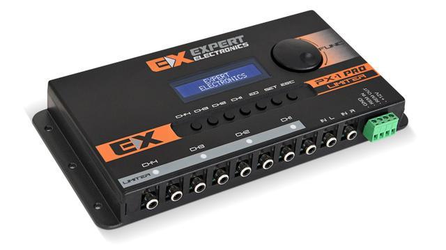 Imagem de Processador de Audio Equalizador EXPERT PX1 PRO LIMITER 4 canais Crossover
