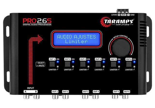 Imagem de Processador de audio taramps pro 2.6s