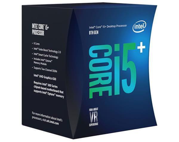 Imagem de Processador intel 8400 core i5+ c/ intel optane (1151) 2.80 ghz box - bo80684i58400 - 8ª ger
