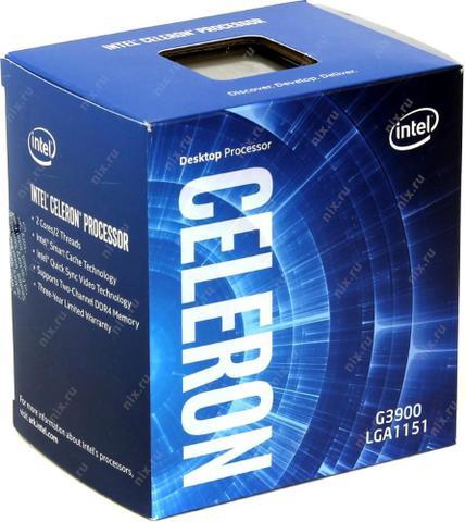 Imagem de Processador Intel Celeron G3900 S1151 2.8ghz