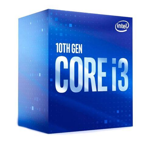 Imagem de Processador Intel Core i3-10100F 3.6GHz, 6MB Cache, LGA 1200