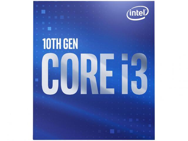 Imagem de Processador Intel Core i3 10100F Comet Lake