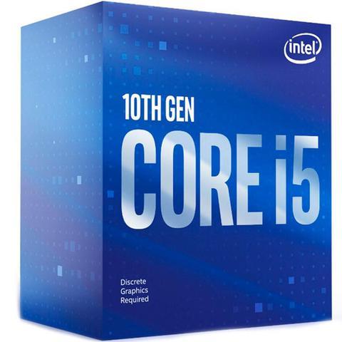 Imagem de Processador Intel Core i5-10400F, Cache 12MB, 2.9GHz (4.3GHz Max Turbo), LGA 1200 - BX8070110400F