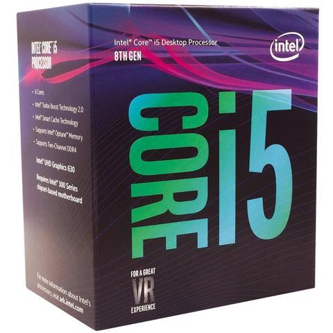 Imagem de Processador Intel Core i5-8400 2.8Ghz, Cache 9MB, LGA 1151, Intel UHD Graphics 630 - Box